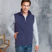 Luca zip-through microfleece gilet
