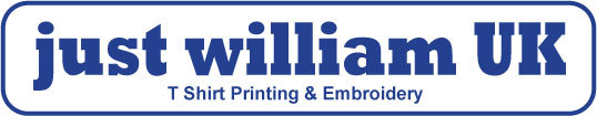 Just William UK - T Shirt Printing & Embroidery